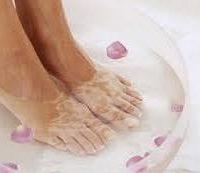 ванни для лікування тріщин на п'ятах