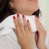 Компреси для лікування хворого горла